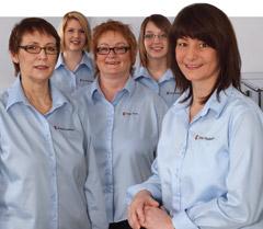 das Team von der Hausarzt-Praxis von Meusel & Moellemann
