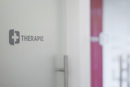 Eingang zum Therapieraum